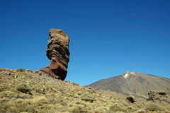 从Roques de Garciaa的看法 库存照片