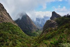 Roques in La Gomera Stock Photo