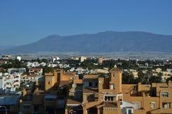 Roquetas de marcha en Almería foto de archivo