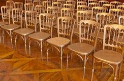 Ror av stolar Royaltyfri Foto