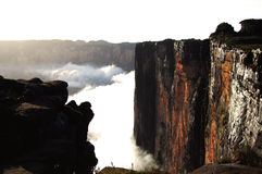 Roraima cliff - Venezuela Stock Photos
