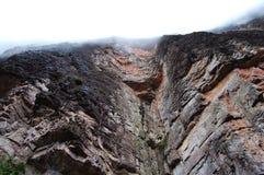 Roraima cliff - Venezuela royalty free stock images
