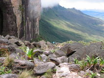 Roraima trail. A picture taken from the trail to Roraima tepui (Venezuela Stock Photo