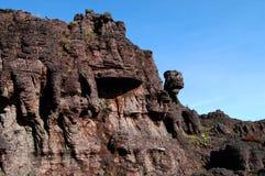 Roraima - Venezuela. Curious geology on top of the mountain Stock Photos