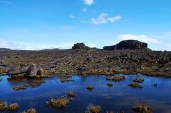 Roraima - Venezuela. Unusual geology on top of the mountain Royalty Free Stock Photo