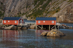 Rorbu Cabins Royalty Free Stock Image