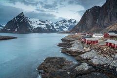 Rorbu cottages, Lofoten, Norway Royalty Free Stock Photo