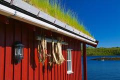 Rorbu hut Stock Image