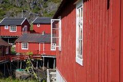 Rorbu huts Royalty Free Stock Photo
