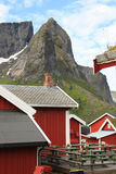 Rorbu village of Reine Royalty Free Stock Photos