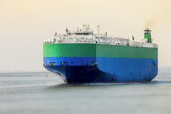 Roro carrier ship Stock Photo
