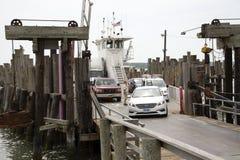 RORO ferry at Greenport Long Island USA Royalty Free Stock Photography