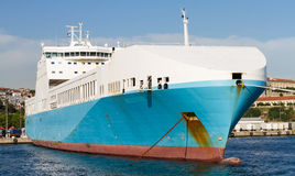 Roro Ship Royalty Free Stock Images