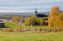 Roros church Stock Photo