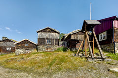 Roros herritage miasto w Norwegia Obraz Stock