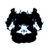 Rorschach inkblot vektor illustrationer