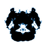 Rorschach inkblot Royalty Free Stock Image