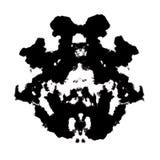 Rorschach inkblot. Test illustration, random abstract background royalty free illustration