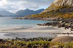 Rorvik beach Royalty Free Stock Image