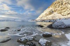 Rorvik-beach Royalty Free Stock Photography