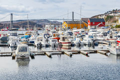 Rorvik, Small Norwegian fishing village Royalty Free Stock Photo