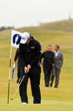 Rory Mcilroy  at the 2011 open. In Sandwich Royalty Free Stock Photos