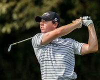 Rory McIlroy at the 2012 Barclays Stock Photography