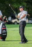 Rory McIlroy at the 2012 Barclays royalty free stock image