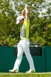 Rory McIlroy au tournoi commémoratif Image libre de droits