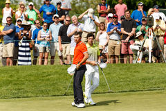 Rory McIlroy and Luke Guthrie at the Memorial Tournament Stock Photo