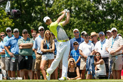 Rory McIlroy at the Memorial Tournament Stock Image
