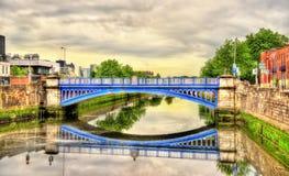 Rory O'More Bridge in Dublin. Ireland Royalty Free Stock Photos
