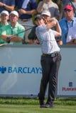 Rory przy Barclays mcIlroy 2012 obraz stock