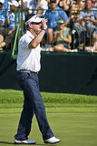 Rory Sabbatini Waving to the Crowd Royalty Free Stock Images