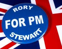 Rory Stewart para el primer ministro imágenes de archivo libres de regalías