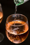 Rosé Wine Stock Images