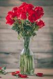 Ros av valentindagen Arkivbilder