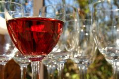Rosé wine Royalty Free Stock Photography