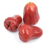 Rosa äpplen Arkivfoto