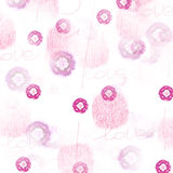 Rosa. Love pink texture on soft background Stock Photography
