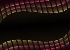 Rosa abstrakter Pixelkurvenhintergrund Lizenzfreies Stockfoto