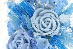 Rosa azul Fotografia de Stock