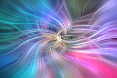 Rosa azul testes padrões abstratos coloridos Conceito Angel Support ilustração stock