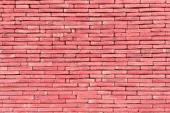 Rosa Backsteinmauer für Beschaffenheit und Hintergrund Stockfoto