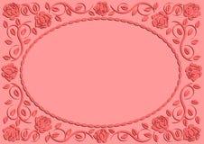 Rosa bakgrund stock illustrationer