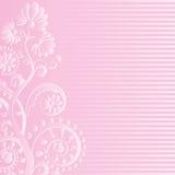 Rosa bakgrund royaltyfri illustrationer