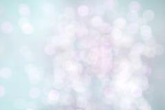 Rosa bakgrund för delikat härlig turkos med bokeh Royaltyfri Fotografi