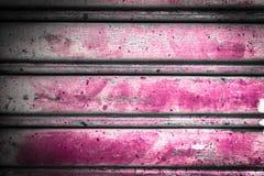 Rosa bakgrund för metallark Arkivfoto