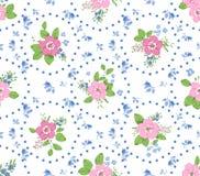 Rosa bakgrund för sjaskig stil arkivbilder