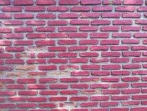 Rosa bakgrund för textur för tegelstenvägg Royaltyfri Foto